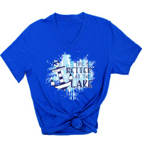 Life Is Better At The Lake Anchor V-Neck
