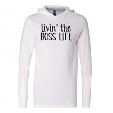 Livin' the Boss Life Lightweight Hoodie