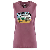Living Our Dream Festival Muscle Tank