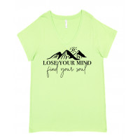 Lose Your Mind Find Your Soul Curvy Collection V-Neck