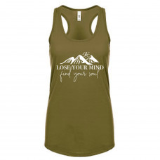 Lose Your Mind Find Your Soul Tank Top