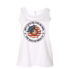 Love America Curvy Collection Tank