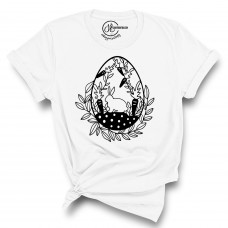 Love Easter Crew Neck T-Shirt - Color Your SOUL