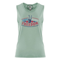 Love Peace Freedom Festival Muscle Tank