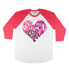 Love Teach Inspire Raglan