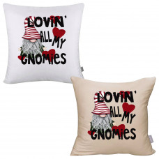 Lovin' All My Gnomies Pillow Cover