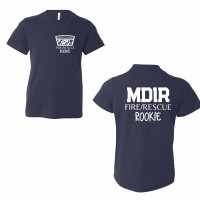 MDIR Rookie Youth T-Shirt - Left Pocket/Back