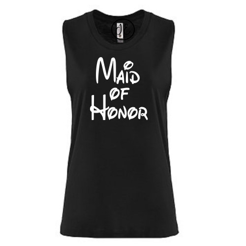Magical Maid of Honor Festival Muscle Tank