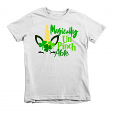 ~SALE! Magically Unpinchable Kids T-Shirt- WHITE/YOUTH M
