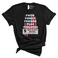 Maine Patriot Defense Crew Neck T-Shirt