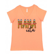 Mamacita Curvy Collection V-Neck