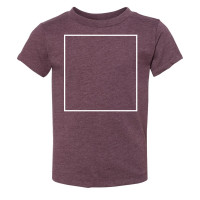 Heather Maroon Toddler T-Shirt BYOT