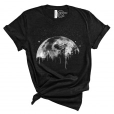Midnight Moon Crew Neck T-Shirt
