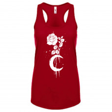 Moon and Rose Tank Top