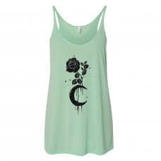 Moon and Rose Slouchy Tank