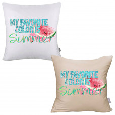 My Favorite Color is Summer Pillow Cover