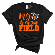 My Heart is on That Field Version 1 Crew Neck