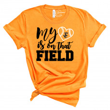 My Heart is on That Field Version 2 Crew Neck