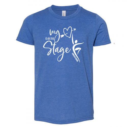 My Heart is on the Stage MDA Strong Youth T-Shirt