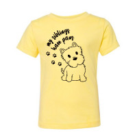 My Siblings Have Paws Toddler T-Shirt