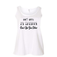 My Tattoos Don't Like You Either Curvy Collection Tank