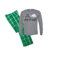 Nap All Day Long Sleeve Pajama Set