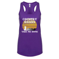 Nashville Country Roads Take Me Home Tank Top