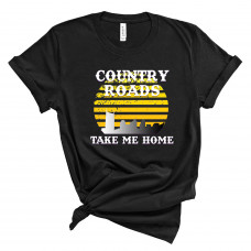 Nashville Country Roads Take Me Home T-Shirt