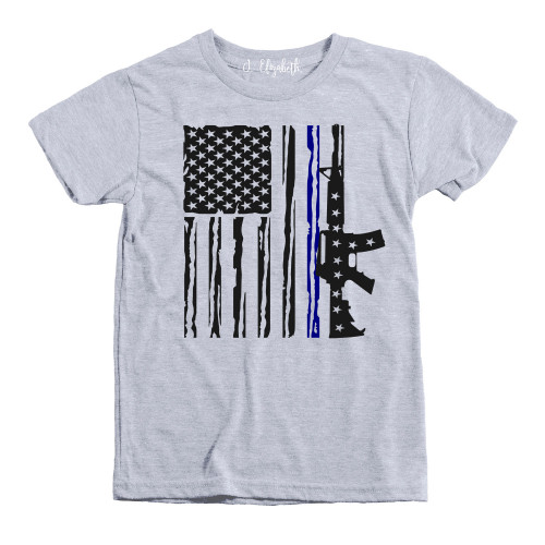 Navy and Air Force Flag Kids
