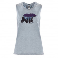 Night Bear Festival Muscle Tank
