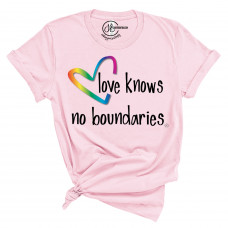 Love Knows No Boundaries T-Shirt