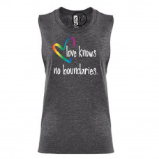 Love Knows No Boundaries Festival Muscle Tank