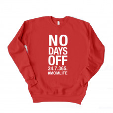 No Days Off Unisex Drop Sleeve Sweatshirt