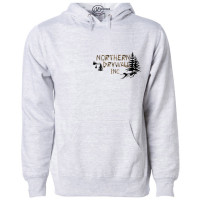 Northern Drywall Left Pocket Logo Fleece Hoodie