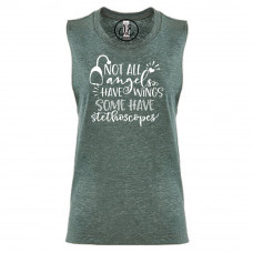 Not All Angels Have Wings Festival Muscle Tank