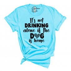 Not Drinking Alone Crew Neck T-Shirt