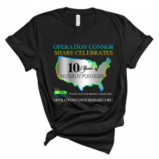 Operation Connor Share 10 Years T-Shirt