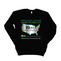 Operation Connor Share 10 Years Drop Sleeve Sweatshirt