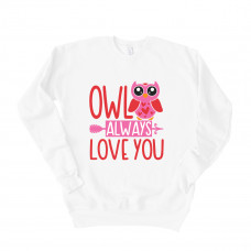 Owl Always Love You Drop Sleeve Sweatshirt