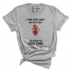Pecked You 3000 Times T-Shirt