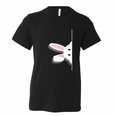 Peeking Bunny Youth T-Shirt
