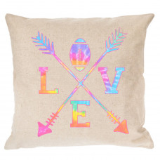 Love Football Pillow Cover