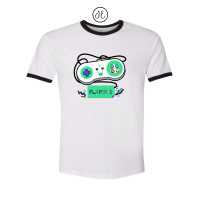 Player 1 Jersey Ringer Tee