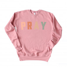 Pray Unisex Drop Sleeve Sweatshirt