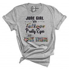 Pretty Eyes and Thick Thighs Crew Neck T-Shirt