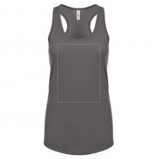 Dark Heather Racer Back Tank BYOT