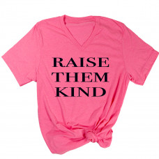 Raise Them Kind V-Neck