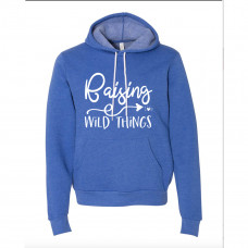 Raising Wild Things Fleece Hoodie -Parental Hope