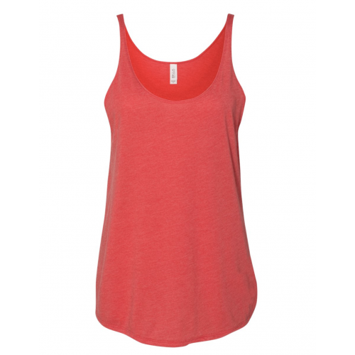 Red Triblend Slouchy Tank Top BYOT