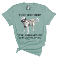 Rescuers Without Borders - FOUR Crew Neck T-Shirt